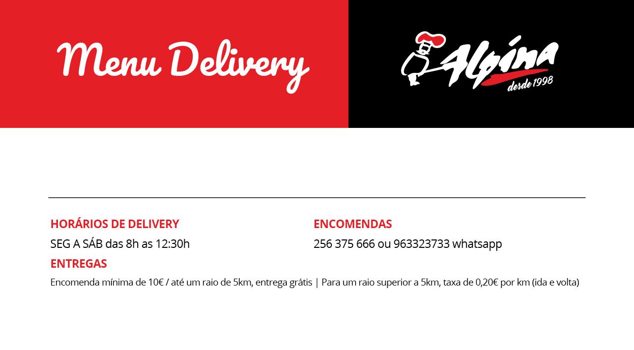 Menu Delivery